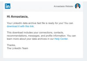 Linkedin as an email growth tool